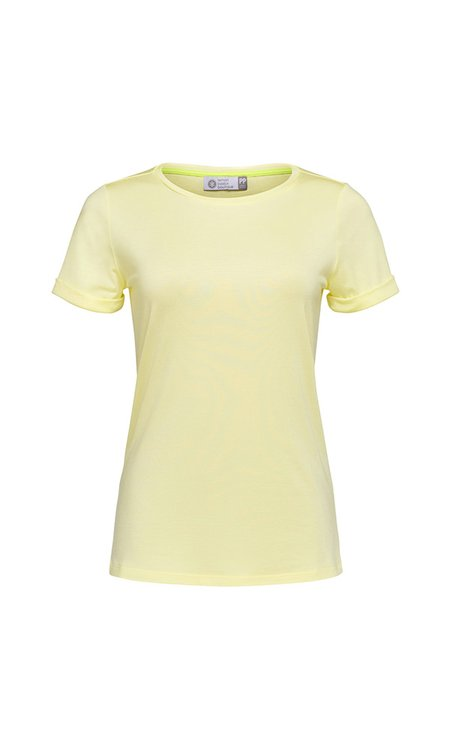 T-SHIRT GOLA CARECA MODAL - LEMONADE