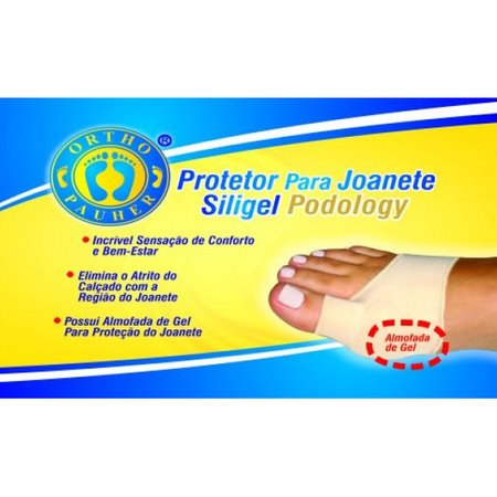Protetor para Joanete Tipo Meia Siligel Podology Orthopauher