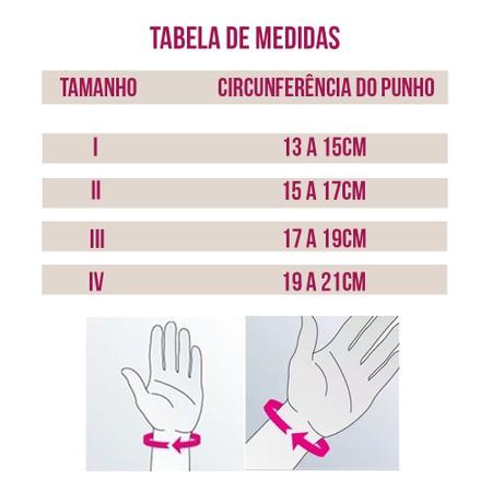 649b9125fa Tala para Punho Direito Elástica Ortopédica Manumed Active com Faixa  Tensionável Medi