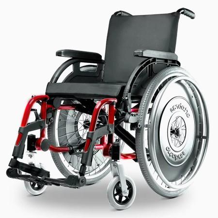 ada1a9bf390a Cadeira de Rodas Alumínio K3 Ortobras Dobrável com Encosto Tensionável