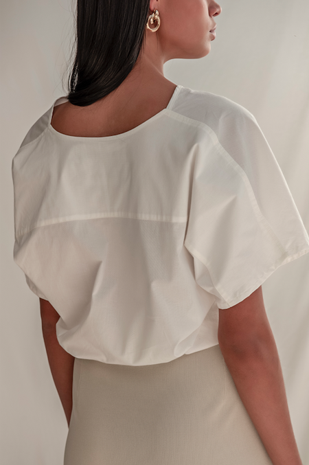 BLUSA CROPPED WALLACE | ROCIO CANVAS