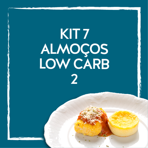 Kit 7 almoços low carb2