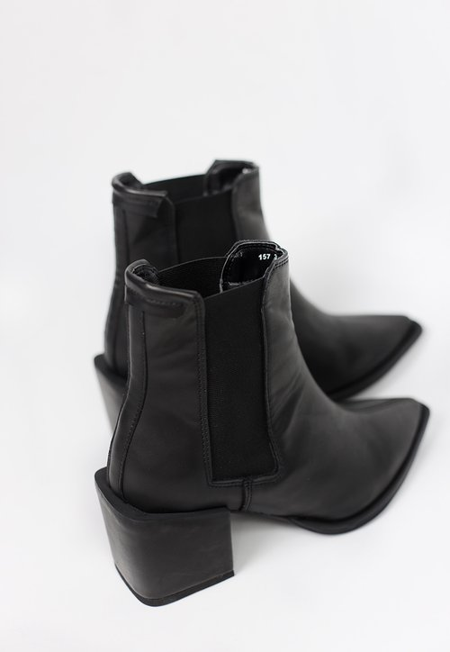 Bota chelsea Juliet  - Black (vegan)