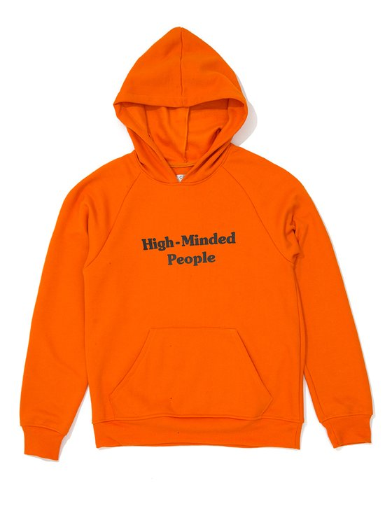Moletom High Minded People Laranja