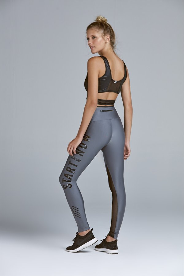 LEGGING ATLETIKA COM ZIPER START NOW