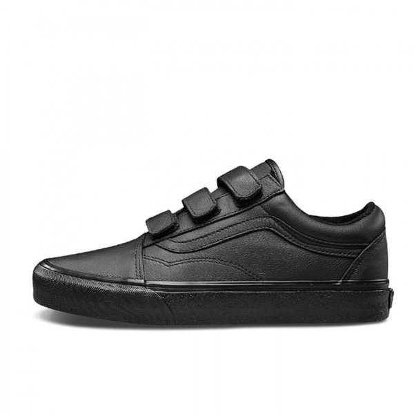 TÊNIS VANS OLD SKOOL UA V (MONO LEATHER) BLACK