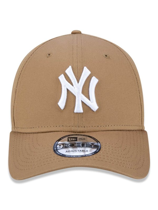 BONÉS NEW ERA ABA CURVA 940 NEW YORK YANKEES MLB BEGE