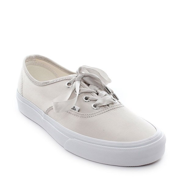 TÊNIS VANS AUTHENTIC (SATIN LUX) LIGHT SILVER/TR