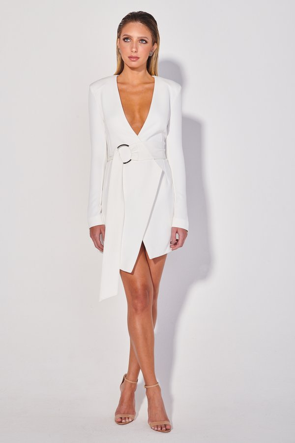 Foto do produto Blazer Vestido Ferri Off-White | Ferri Blazer Dress Off-White