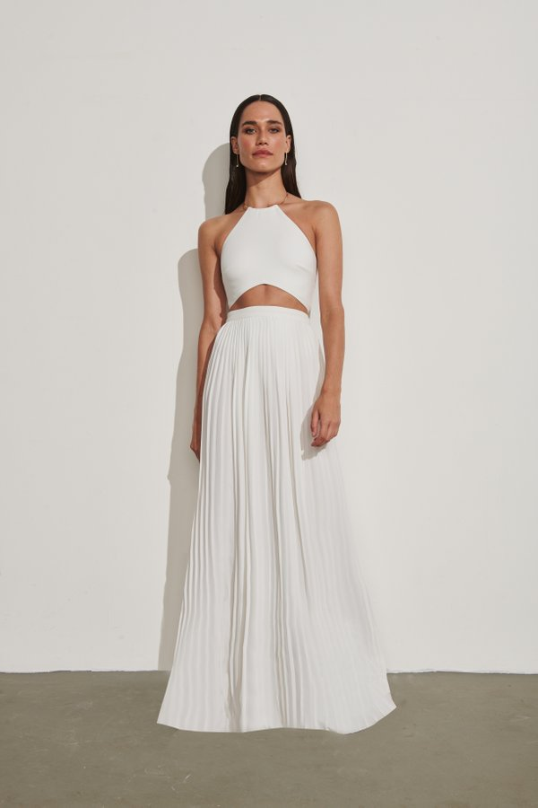Foto do produto Saia Maldivas Off-White | Maldivas Skirt Off-White