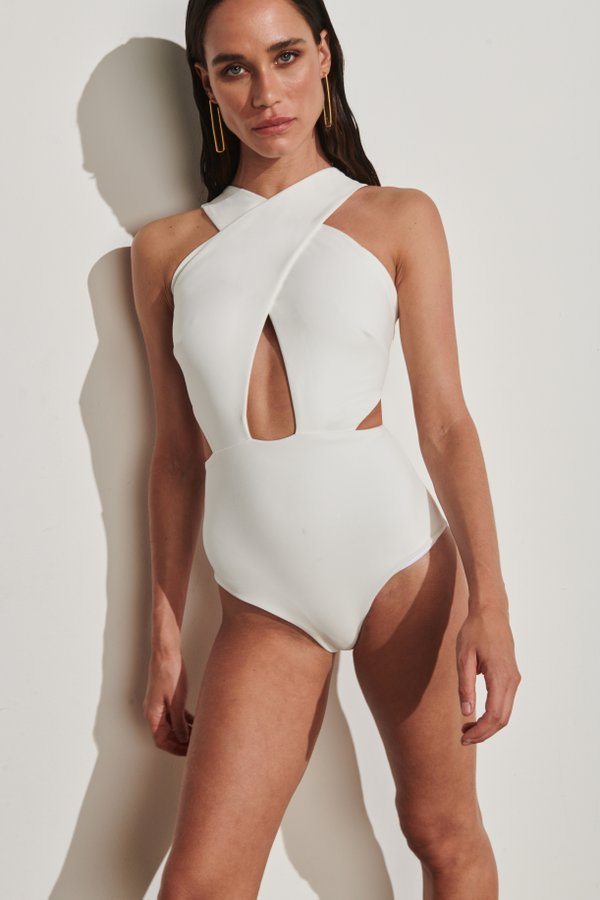 Foto do produto Body Biscayne Off-White | Biscayne One-Piece Off-White