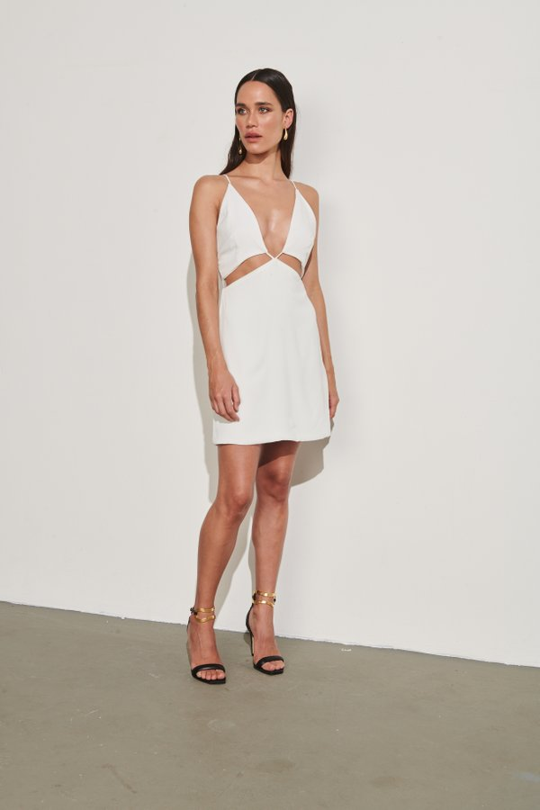 Foto do produto Vestido Faena Off-White | Faena Dress Off-White