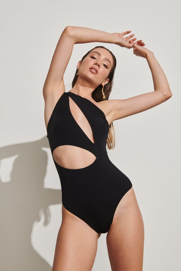 Foto do produto Body Cayman Preto | Cayman One-Piece Black