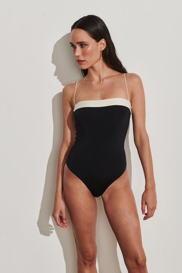 Foto do produto Body Positano Preto | Positano One-Piece Black