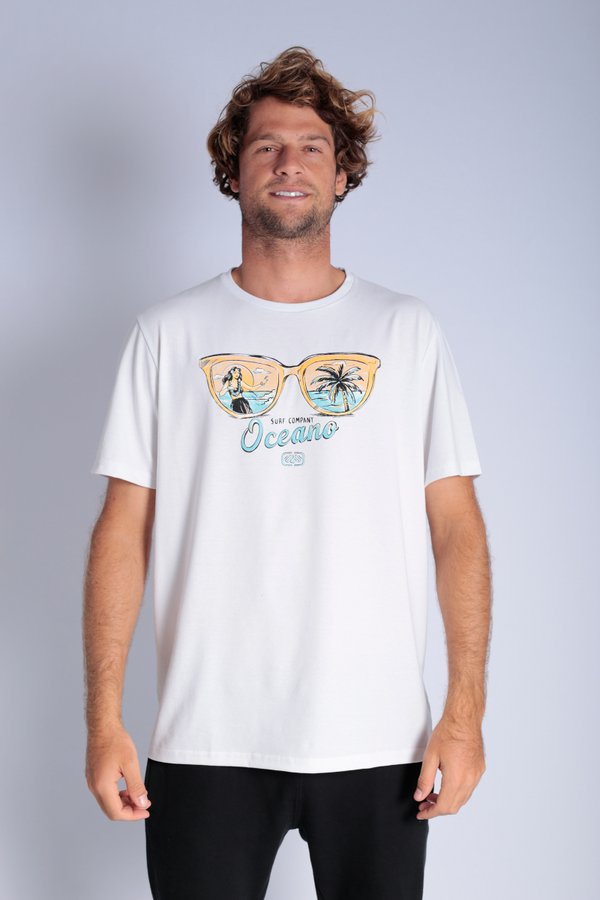 CAMISETA OCEANO ÓCULOS RECICLE