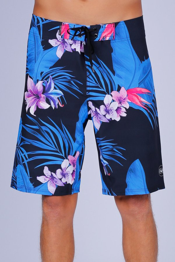 BERMUDA BOARDSHORT OCEANO TROPICAL PERFORMANCE STRETCH