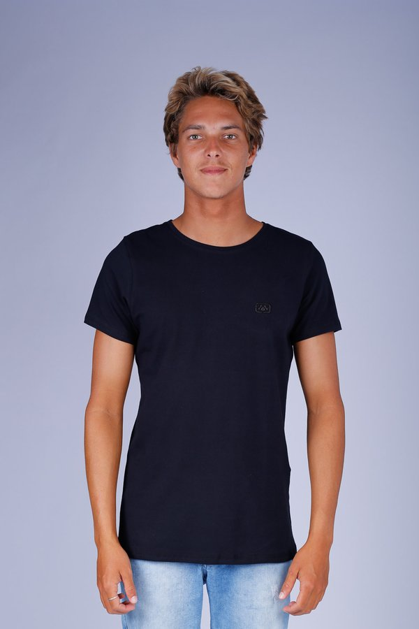 CAMISETA LOGO OCEANO SUPER SLIM COTTON 40