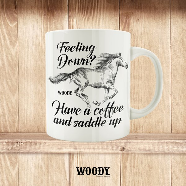 Caneca Feeling Down? - Woody