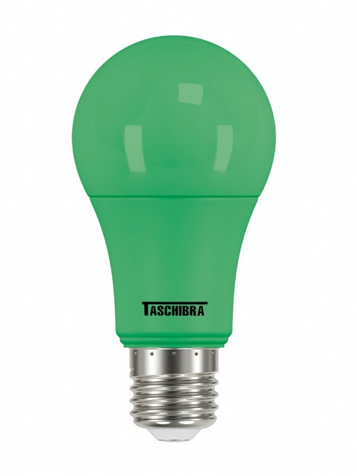 LAMPADA LED TKL COLORS 5W BIVOLT VERDE TASCHIBRA