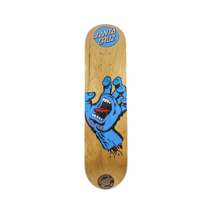 SHAPE SANTA CRUZ POWERLYTE SCREAMING HAND WOOD 8,5