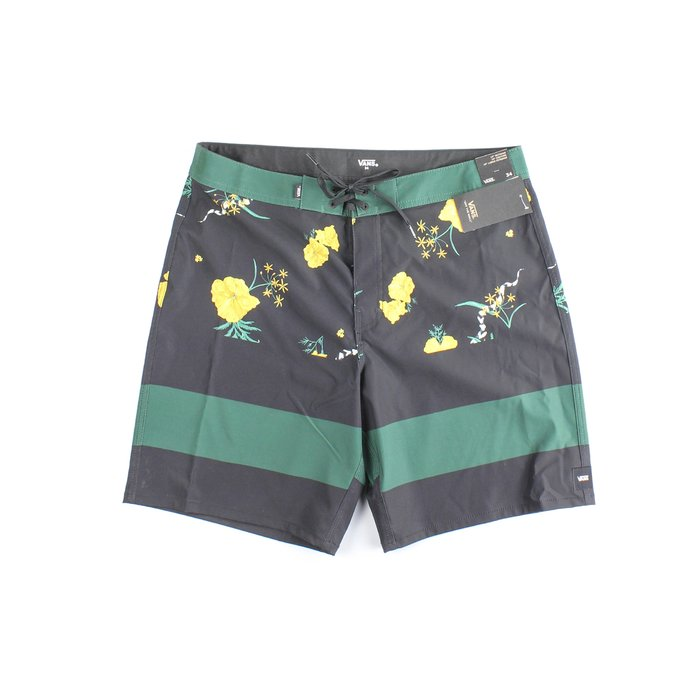 BERMUDA ERA BOARDSHORT PINE NEEDLE