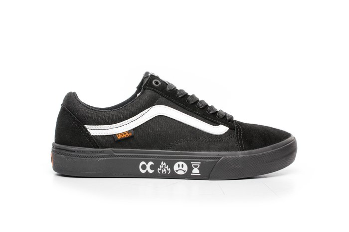 TÊNIS VANS OLD SKOOL PRO BMX (CULT) BLACK/BLACK
