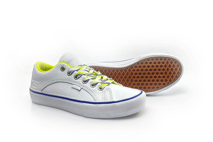 TÊNIS VANS LAMPIN PRO LTD (QUARTERSNACKS) WHITE