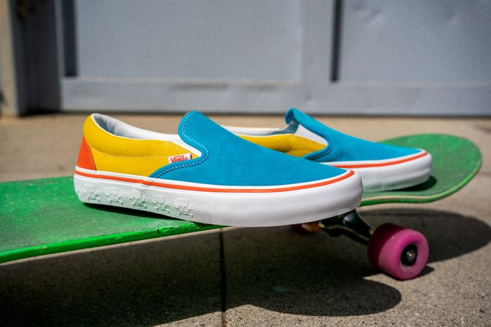 TÊNIS VANS SLIP-ON PRO (THE SIMPSONS) BI/YELLOW