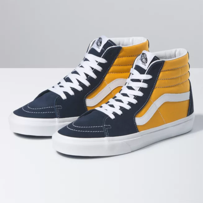 TÊNIS VANS SK8-HI (CLASSIC SPORT) DRESS BLUES/SAFFRON