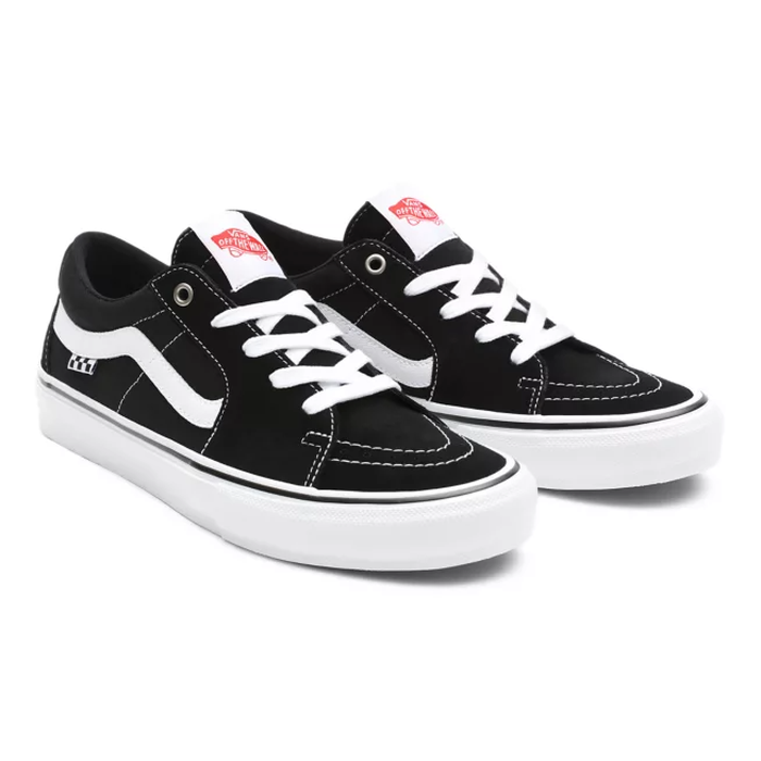TÊNIS VANS SKATE SK8-LOW BLACK/WHITE