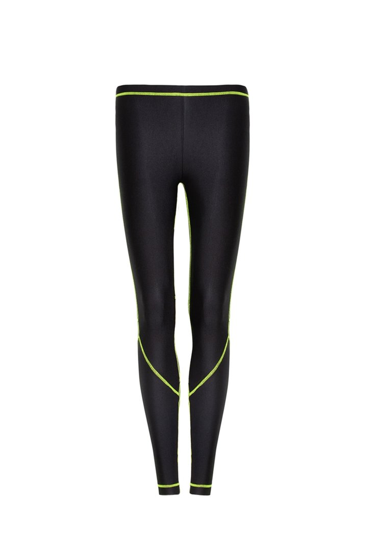 Legging Recortes Neon Green