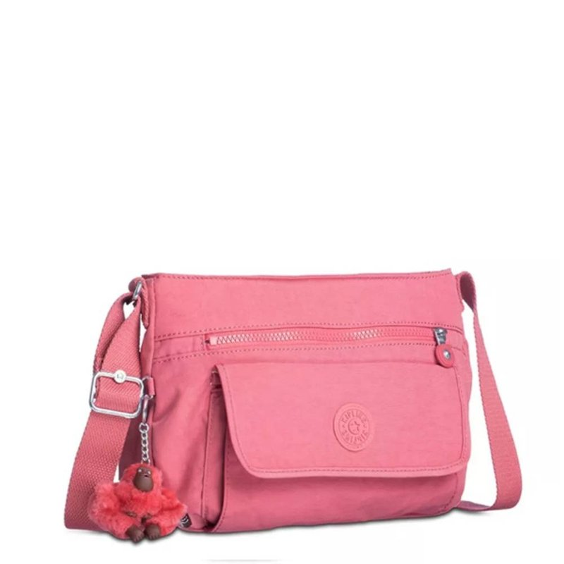 Bolsa Kipling Syro Smooth Berry