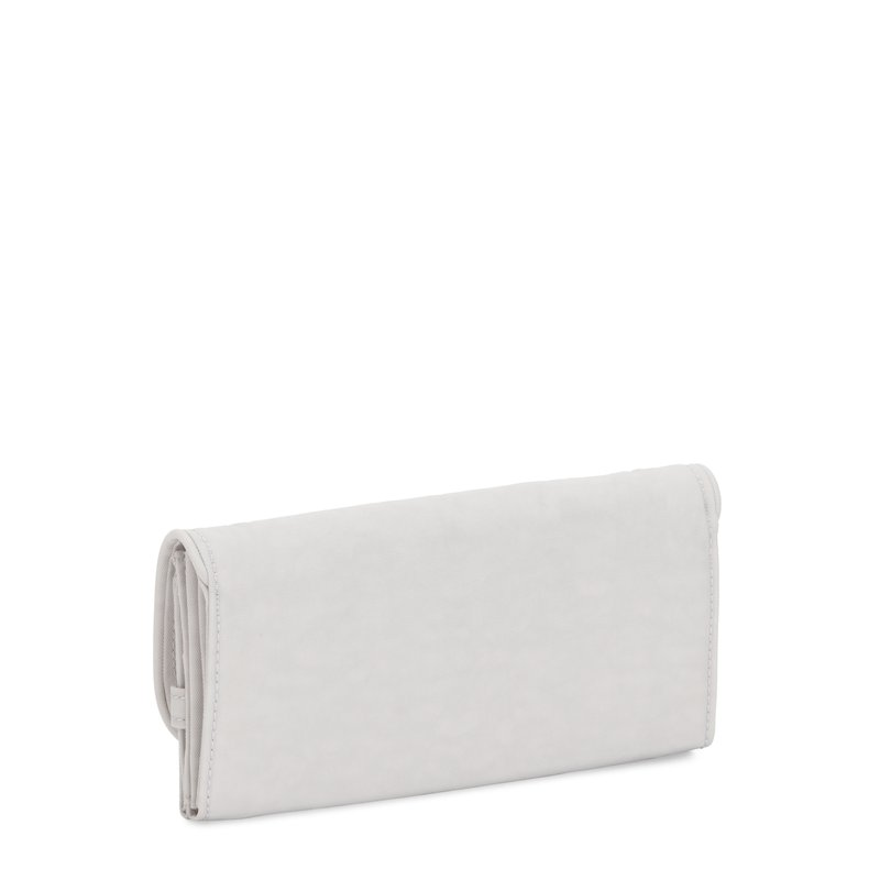 Carteira Kipling Money Land Curiosity Grey