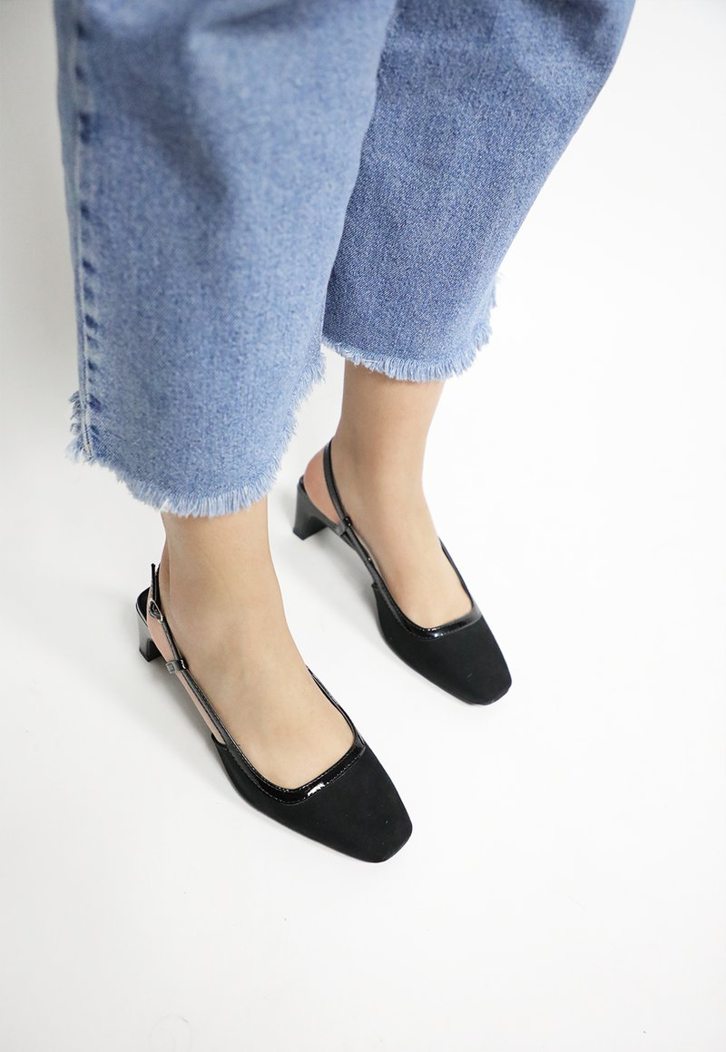 DELPHINE shoes - preto (vegan)