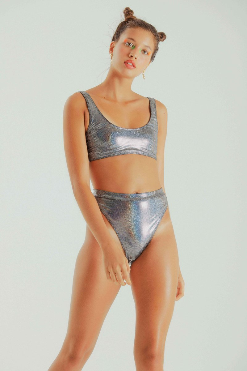 Top Jay Silver Holographic