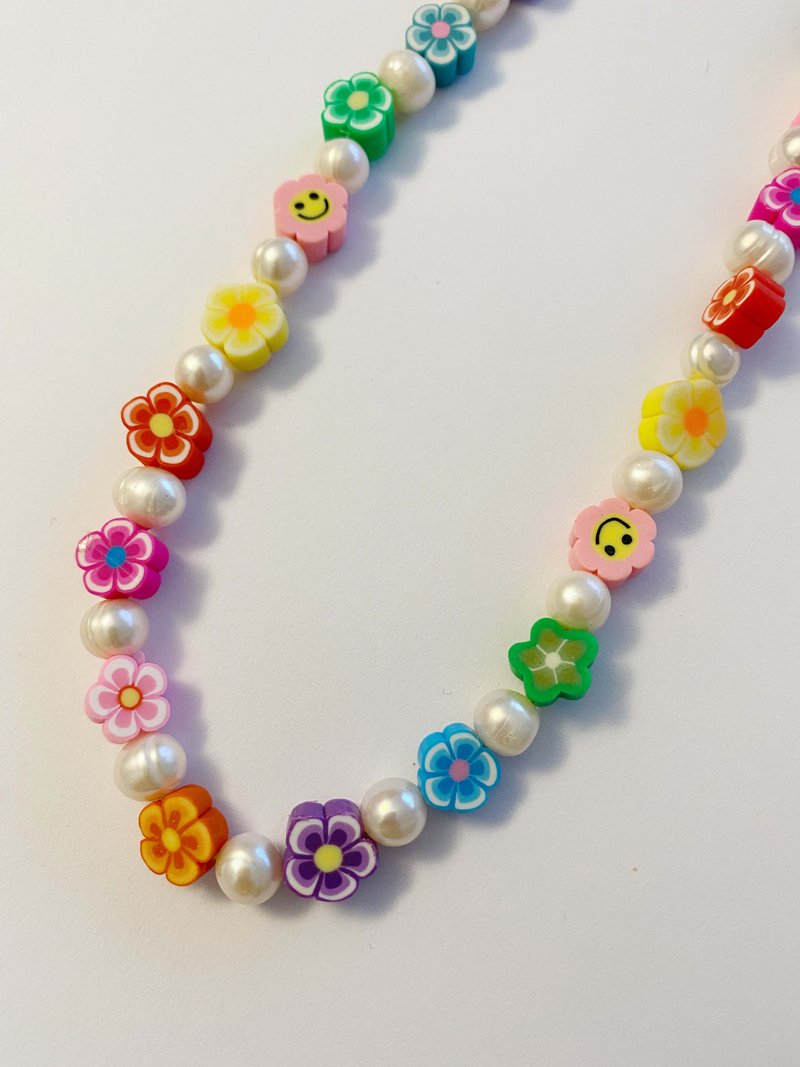 Choker Happy Flowers