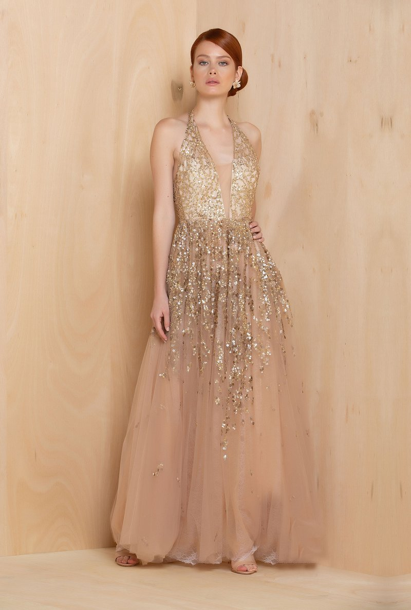 Vestido Gold Vogue