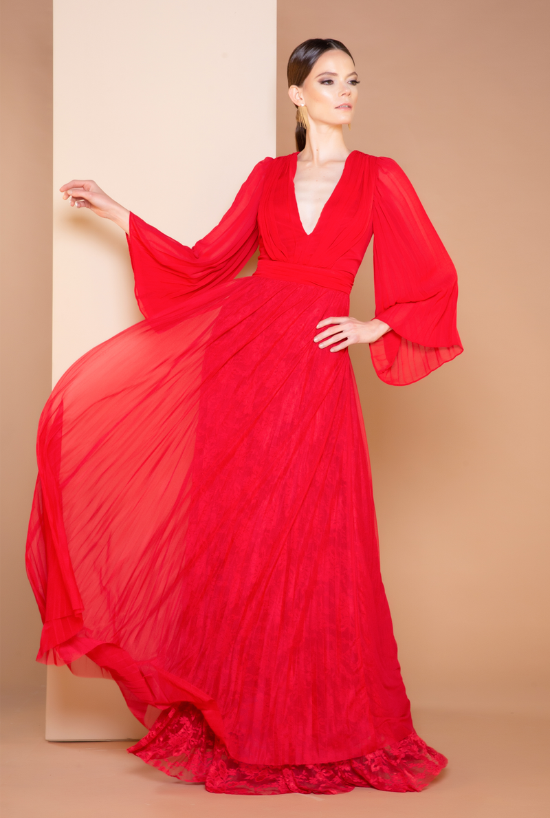 Vestido Red Majesty