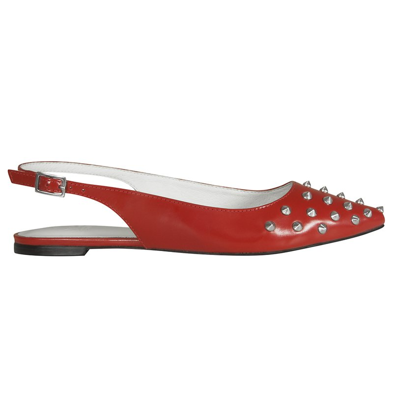 Sapatilha Gabrielle Studded Red