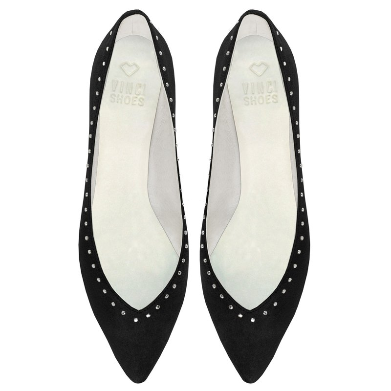 Sapatilha Candice Studded Black