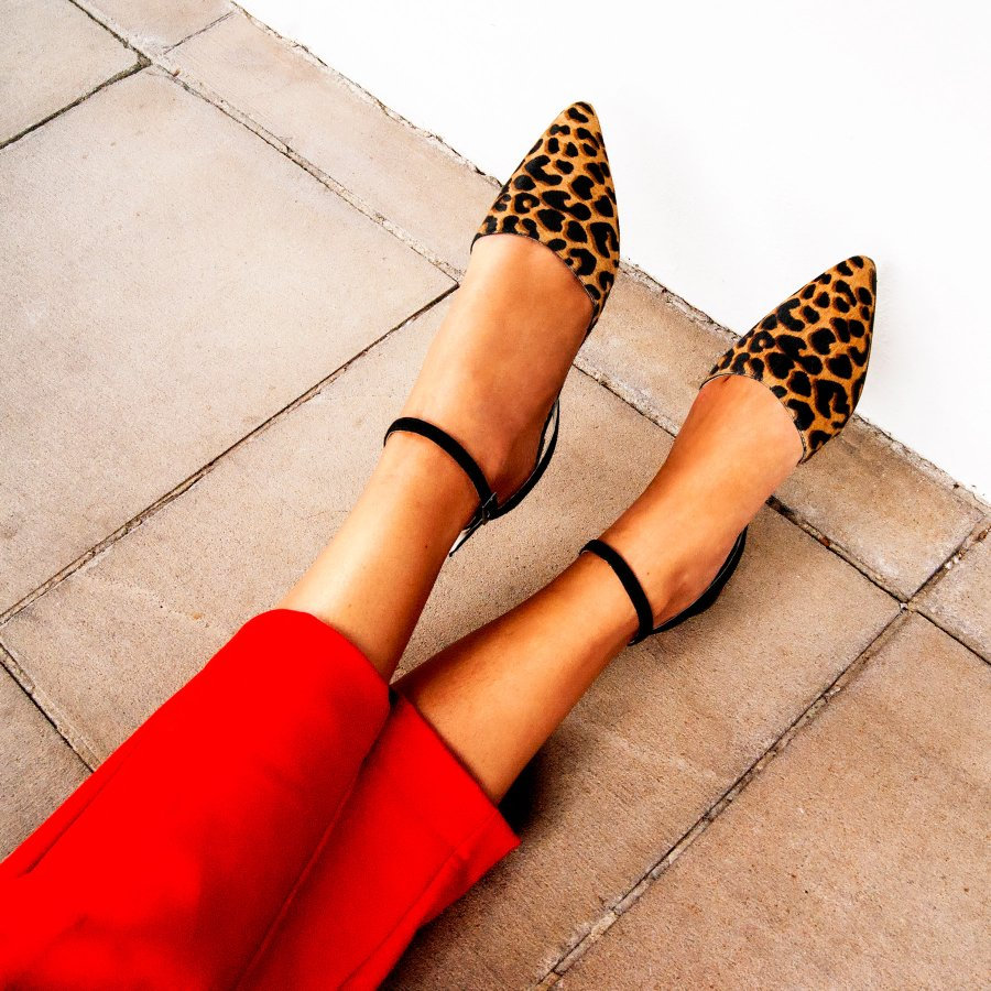 15ebce2f86 Sapatilha Ana Animal Print - Vinci Shoes