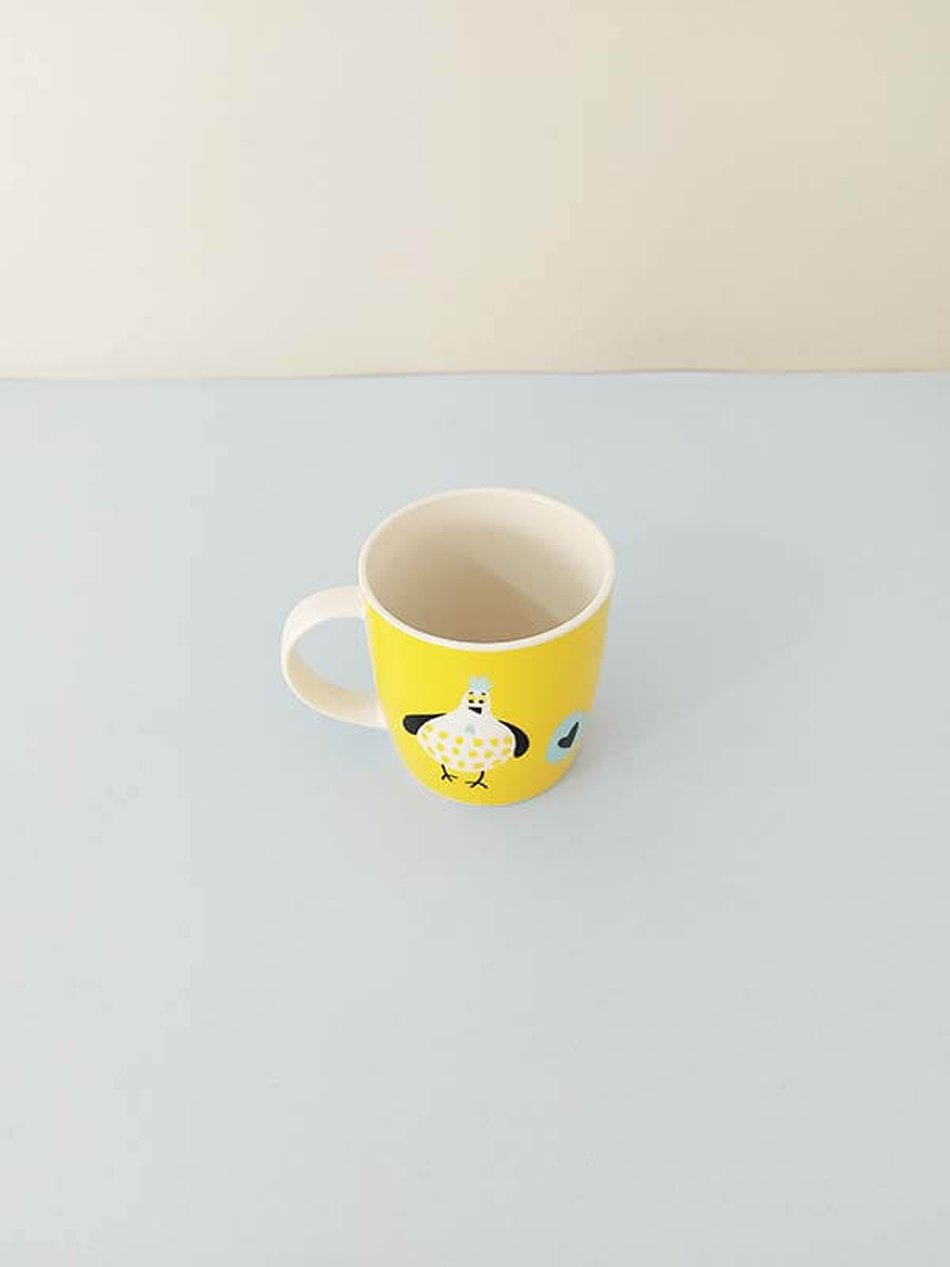 Caneca Porcelana 350ml Chicken