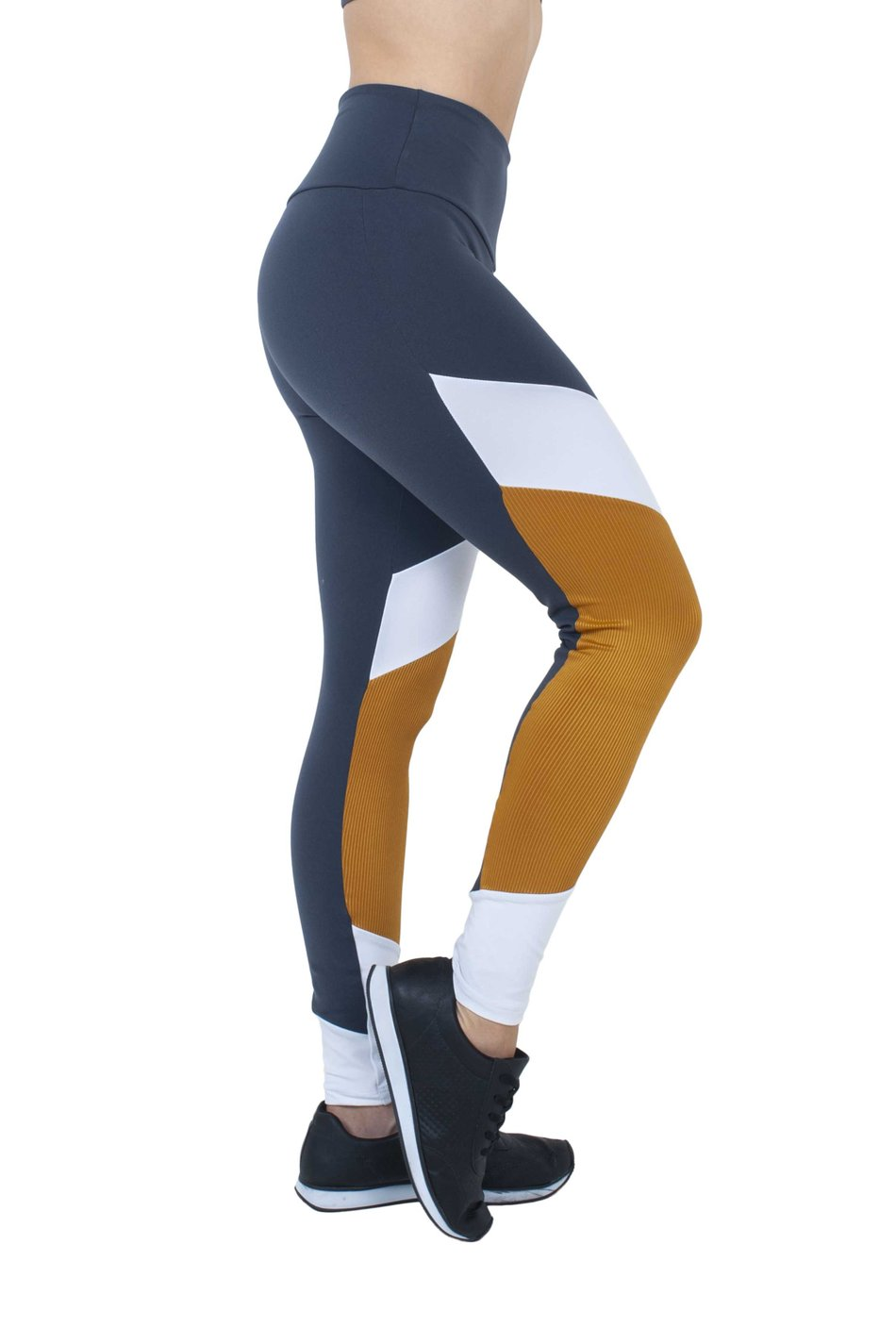 Legging Gold White Supplex