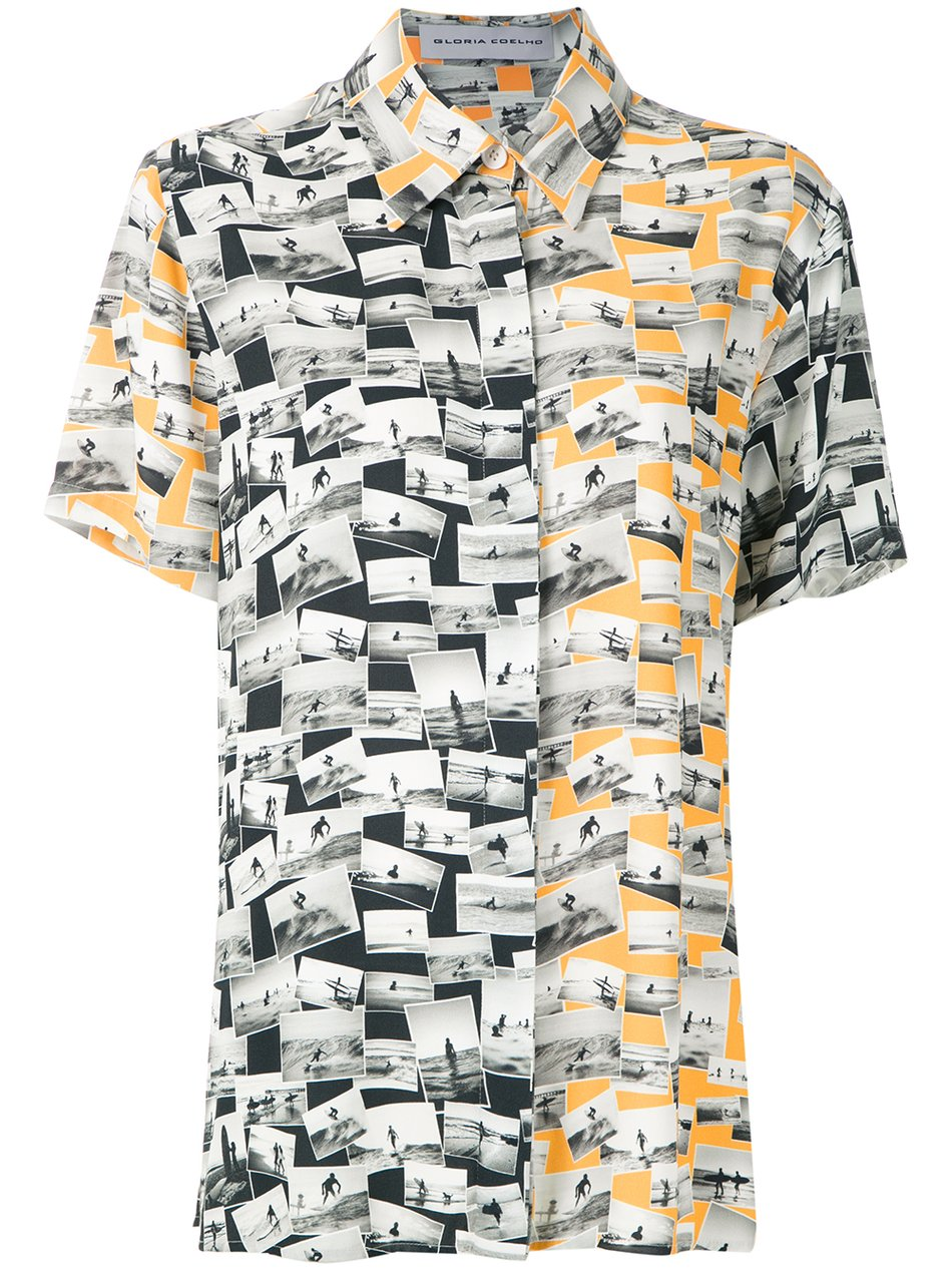 CAMISA SURF ESTAMPADA