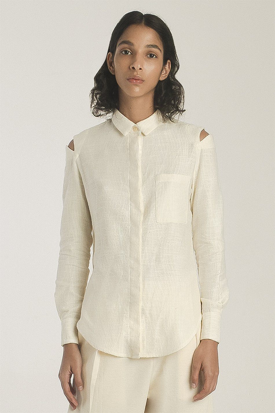 Camisa Brayner Gaze Off-white