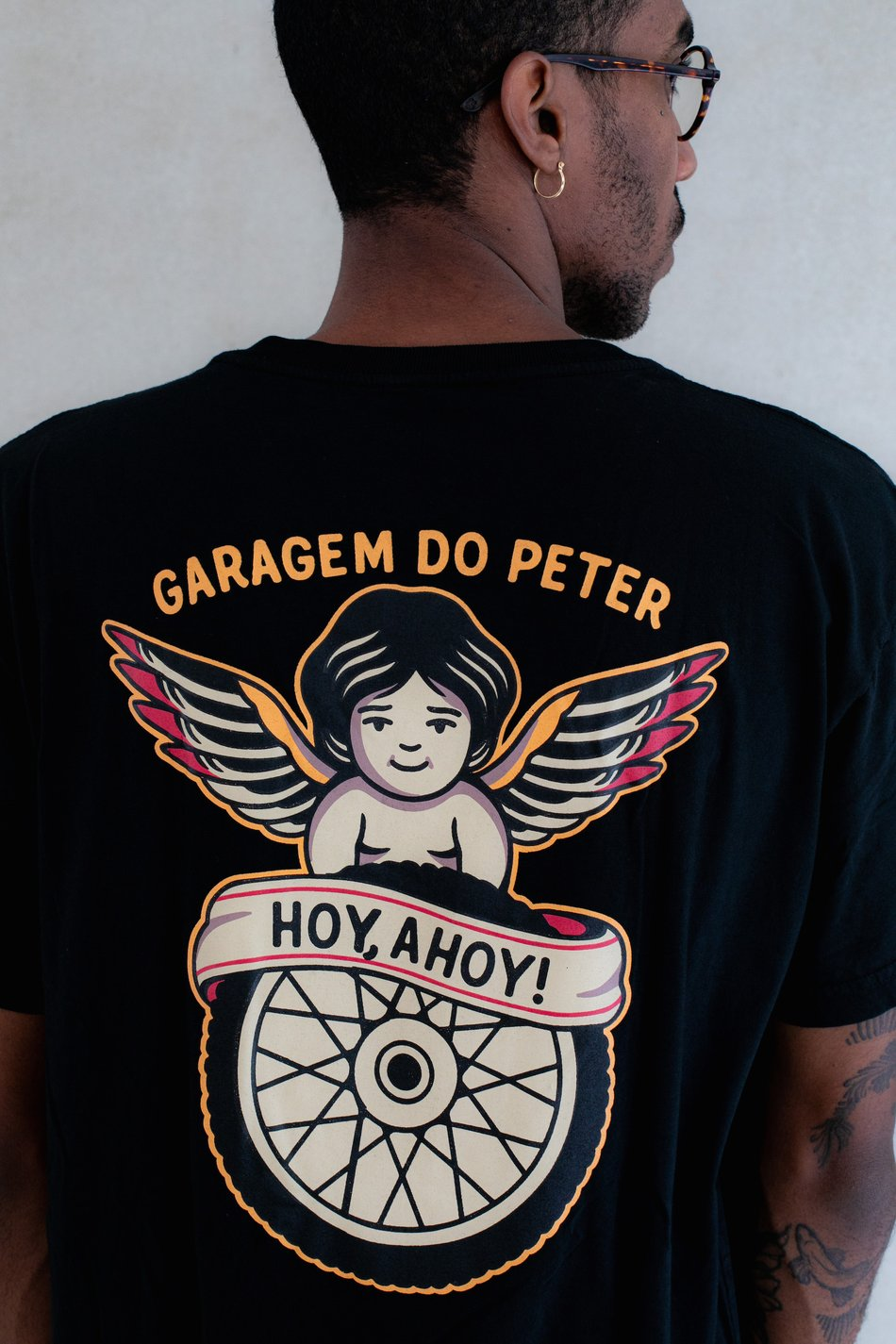 CAMISETA GARAGEM DO PETER