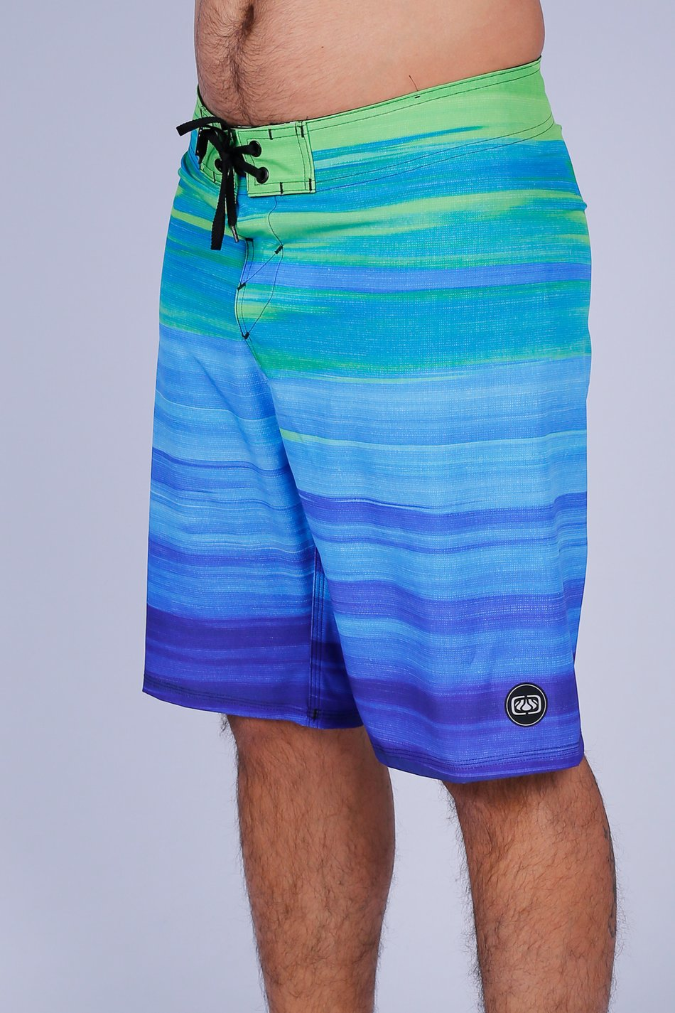 BERMUDA BOARDSHORT OCEANO GRADIENTE PERFORMANCE WATER REPELLENT