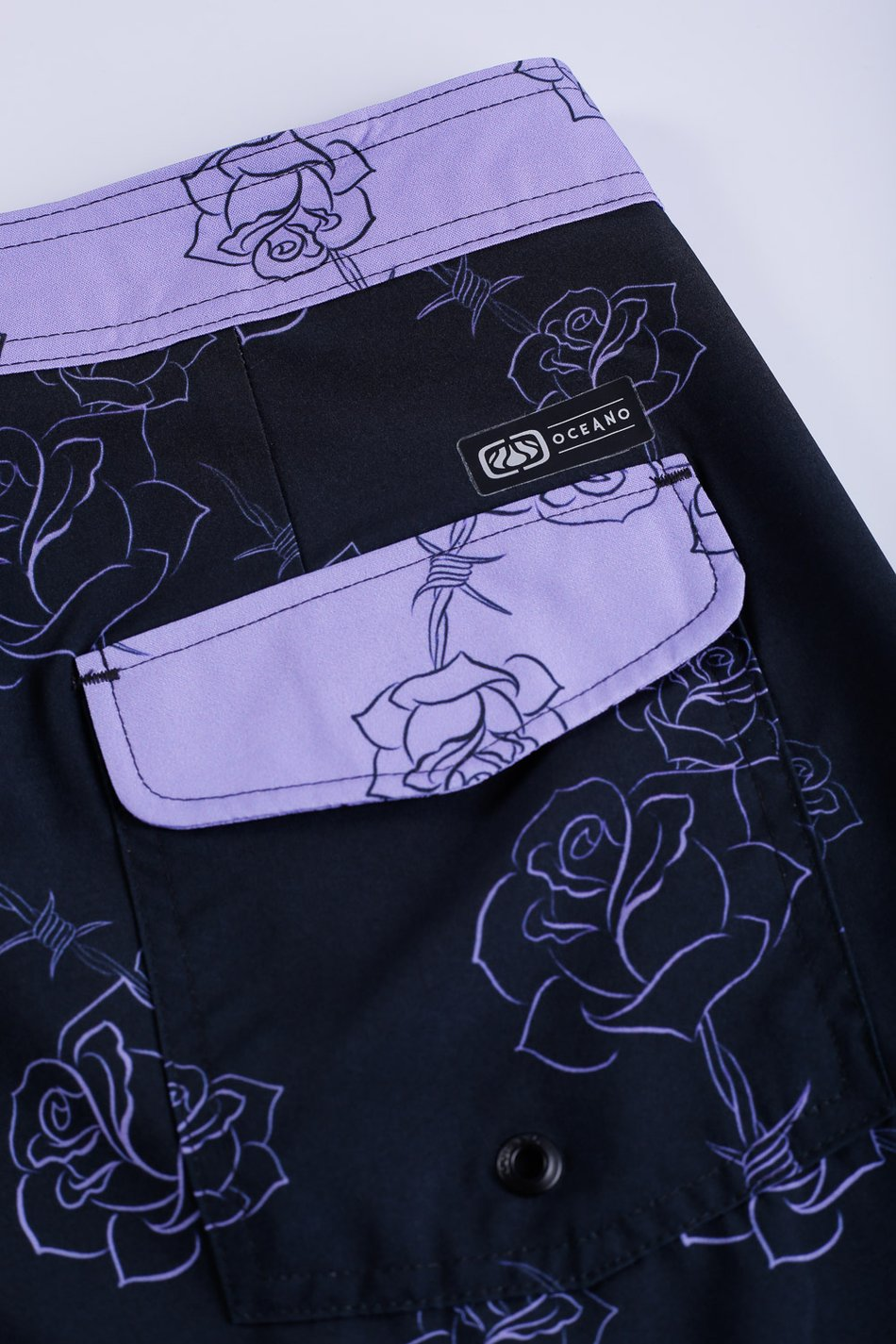 BERMUDA BOARDSHORT ROSAS COLLAB HEDI PERFORMANCE RETRÔ