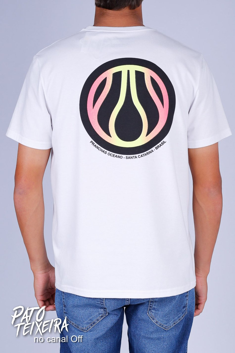 CAMISETA OCEANO RETRÔ RECICLE