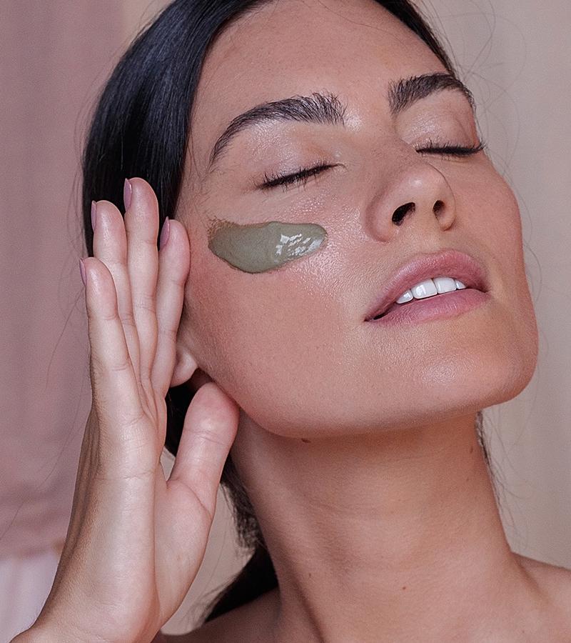 Como aplicar - Máscara verde